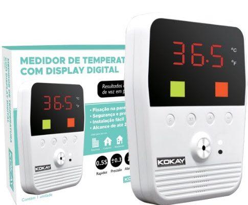 Kokay lança Termômetro por Aproximação para dispensar contato humano