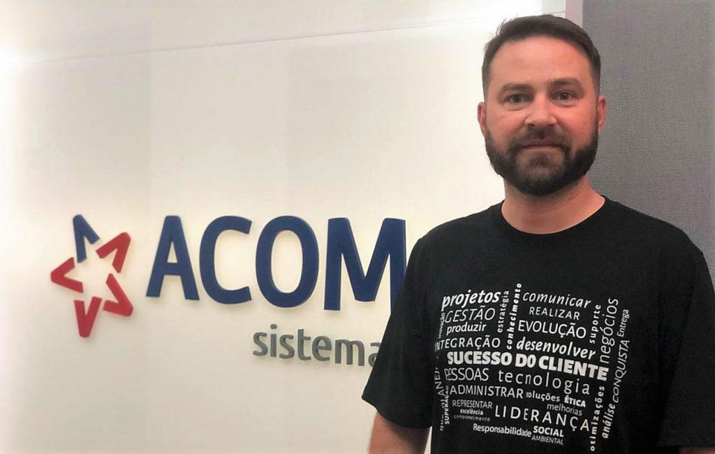 Eduardo Ferreira, CCO da ACOM Sistemas