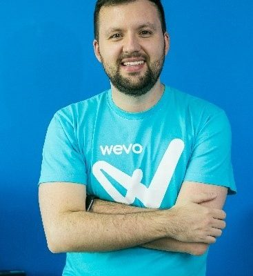 Divulgação/NB Press DiogoLupinari, CEO ecofundadordaWevo