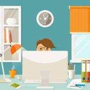 Um ano de home office