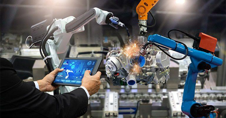 O novo chão de fábrica agrega cada vez mais tecnologia Divulgação